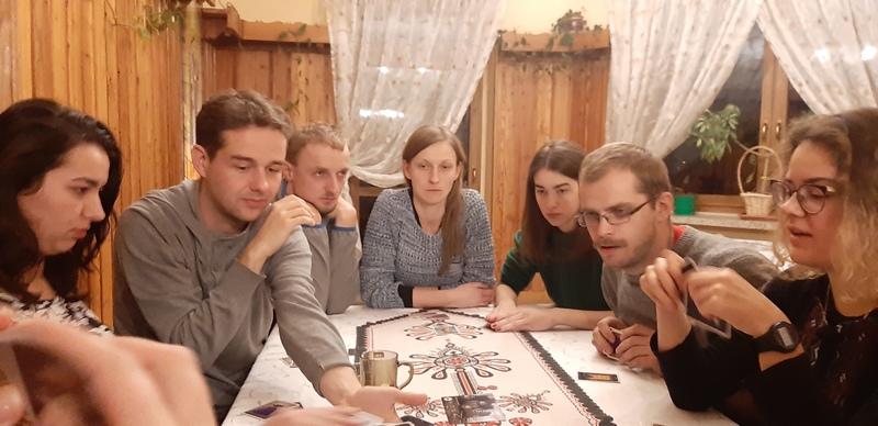Duszpasterstwo i studenci grają w planszówki