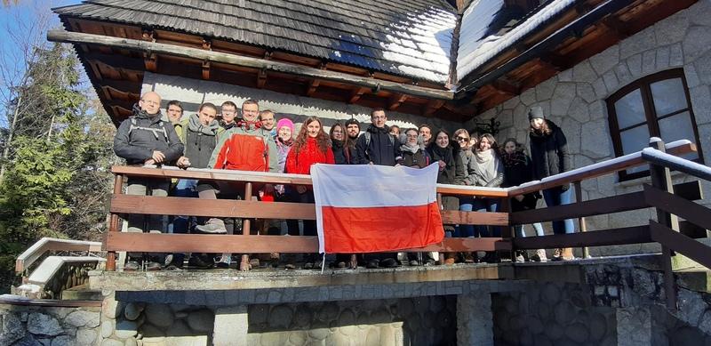 Listopadowy wyjazd integracyjny w Tatry, klasztor albertynów na Kalatówkach